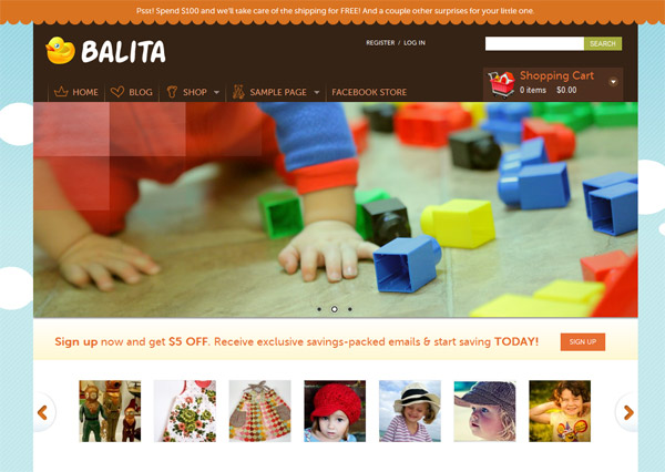 balita free wordpress theme